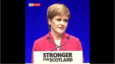 nicola sturgeon stronger for scotland